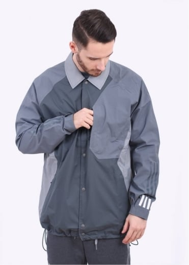 x White Mountaineering Bench Jacket - Grey