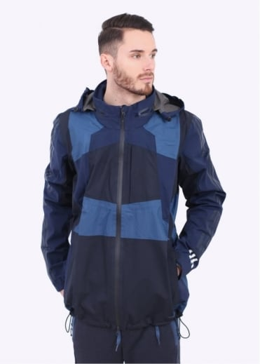 x White Mountaineering Shell Jacket - Navy