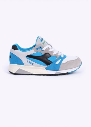 S8000 Nylon 'Made in Italy' Trainers - Blue / Grey