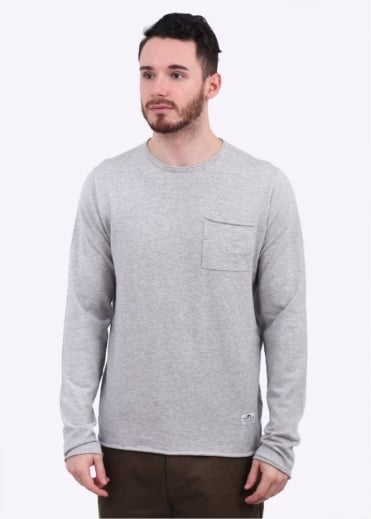 Alson Crew Knit - Grey