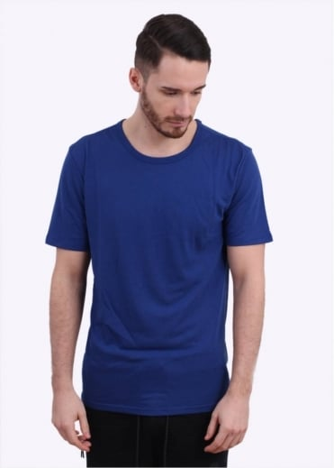 Solid Futura Tee - Deep Royal Blue