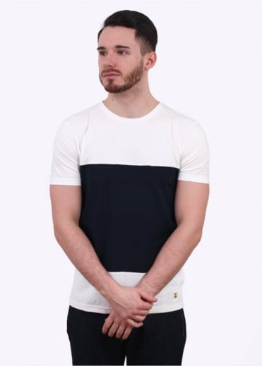 Heritage T-Shirt - Milk / Navy