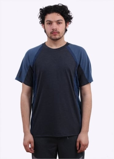 x White Mountaineering SSL Tee - Navy