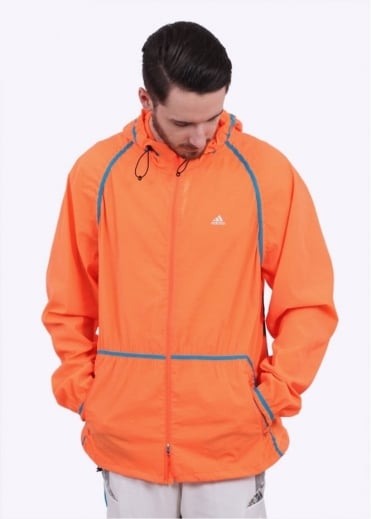 Adidas Originals Apparel x Kolor Woven Jacket - Solar Orange / Aqua