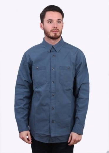 Buckhorn Field Shirt - Petrol Blue