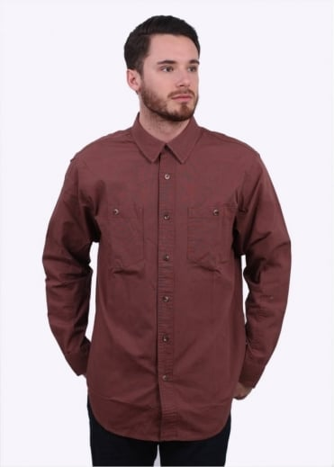 Buckhorn Field Shirt - Red Clay