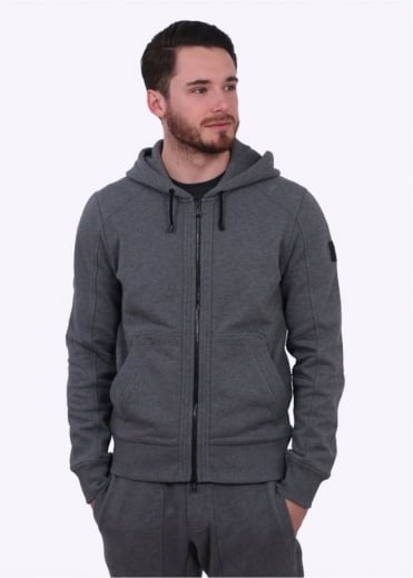 Fleming Hooded Sweatshirt - Mid Grey
