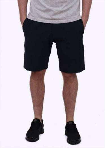 Reverse Weave Classic Track Shorts - Navy Blue