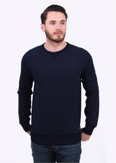Original Crew Neck Sweater - Indigo