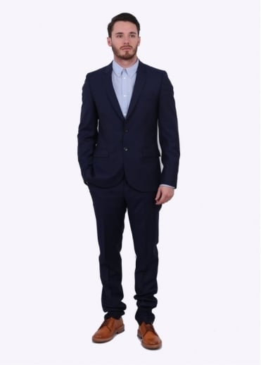 Paul Smith Fully Lined Suit - Indigo