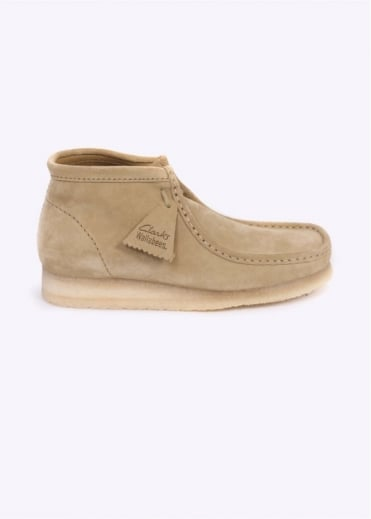 Clarks Originals Wallabee Boot Suede - Maple