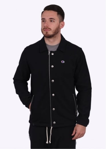 Champion x BEAMS Coach Jacket - Black