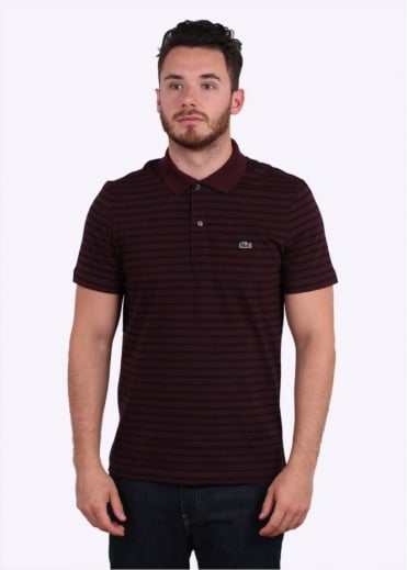 Stripe Polo Shirt - Vendage / Navy