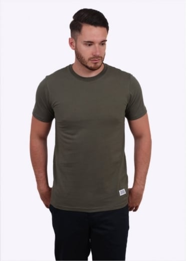 Niels Basic Tee - Dried Olive