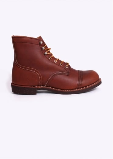 "Red Wing Shoes 6"" Iron Ranger Boots - Oro Russett"