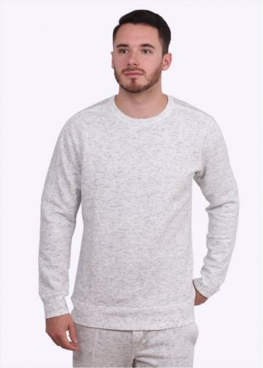 x Wings & Horns Bonded Crewneck - Off White