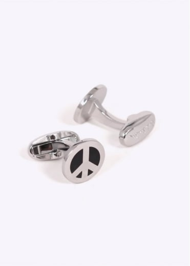 Paul Smith Peace Cufflinks - Silver