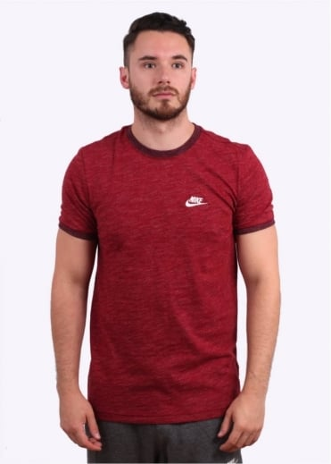 Legacy Tee - Team Red Heather