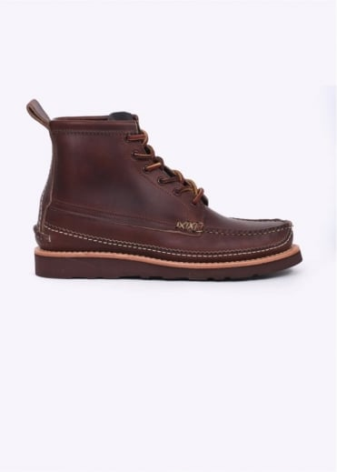 Yuketen Maine Guide 6 Eye DB Boots - Brown
