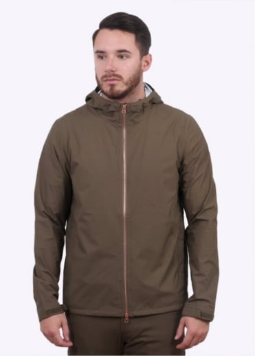 Commuter Echelon Windbreaker Jacket - Dark Moss