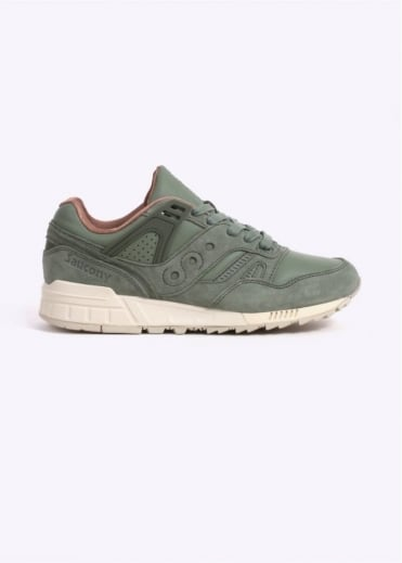 "Saucony Grid SD ""Public Gardens"" - Olive Green"