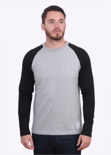 Long Sleeve Dodgers T-Shirt - Heather Grey