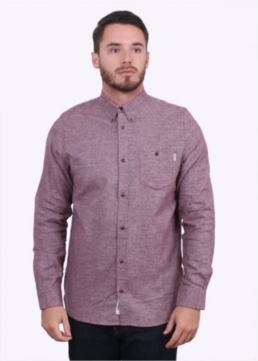 Carhartt Long Sleeve Cram Shirt - Chianti