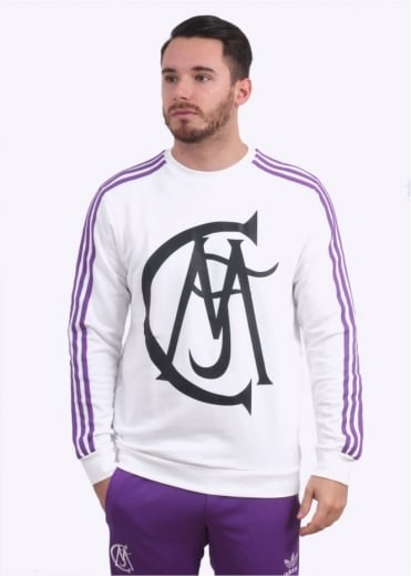 Real Madrid Crew Sweater - Black / Purple