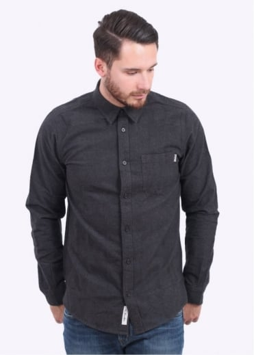 LS Griffith Shirt - Black Heather