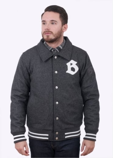 Car Club Wool Jacket - Dark Grey