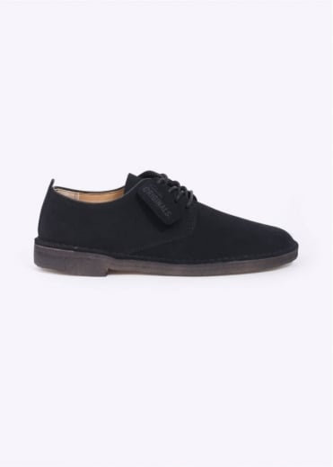 Clarks Originals Desert London Suede - Black