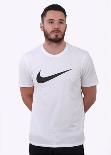 Nike Apparel Crest Swoosh - White / Anthracite