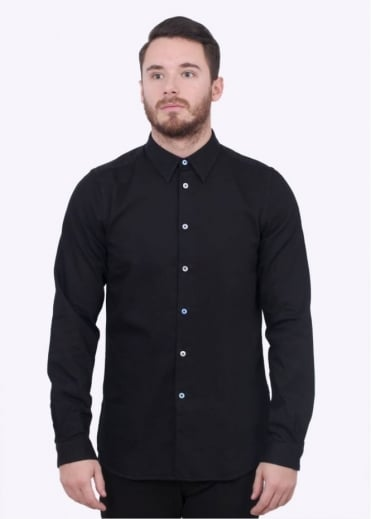 Paul Smith Tailored LS Shirt - Black