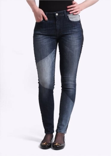 Vivienne Westwood Anglomania Jeans New Monroe Jeggings - Blue Denim