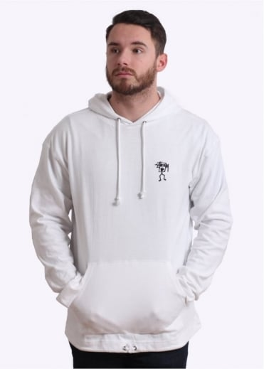 Overdyed Hoodie - White