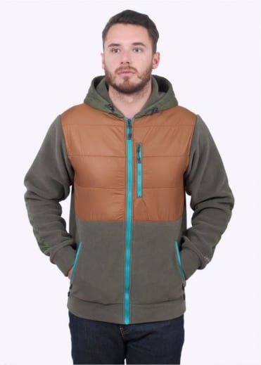 Polartec Base Camp Hoodie - Olive