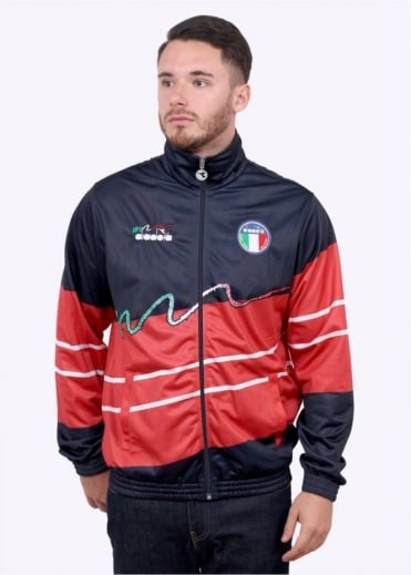 Diadora 90s Italia Jacket - Blue Corsair