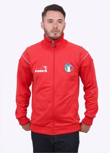 Diadora 80s Italia Jacket - Red
