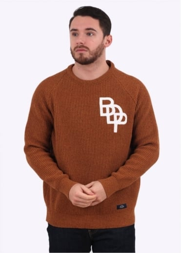 Pull Raglan - Burnt Orange
