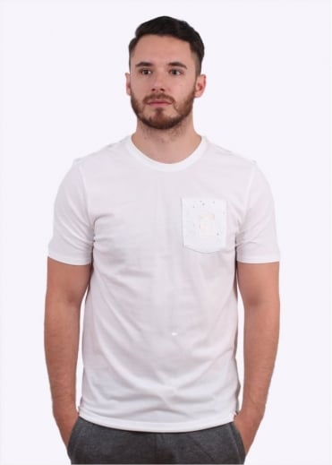 Court Pocket Tee - White