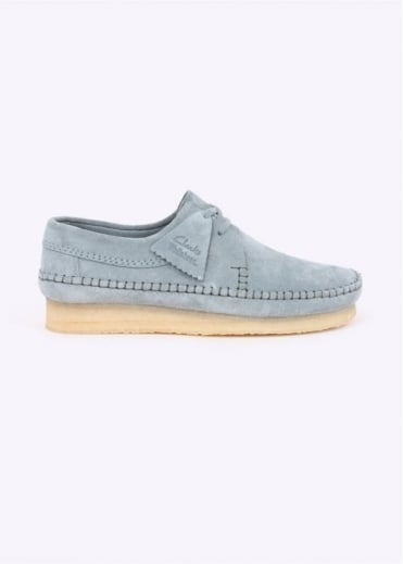 Clarks Originals Weaver Shoe - Blue / Grey