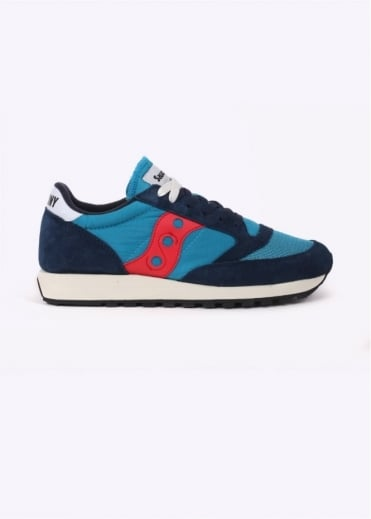 Saucony Jazz Original Vintage - Navy / Red