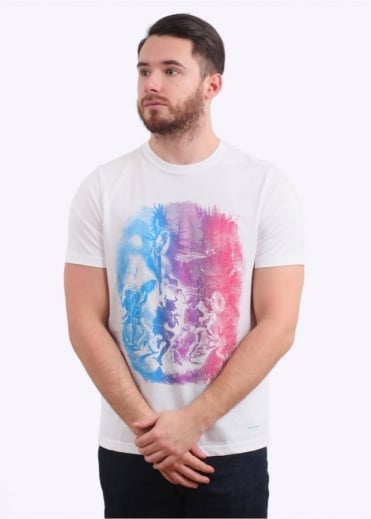 Paul Smith Graphic T-Shirt - White