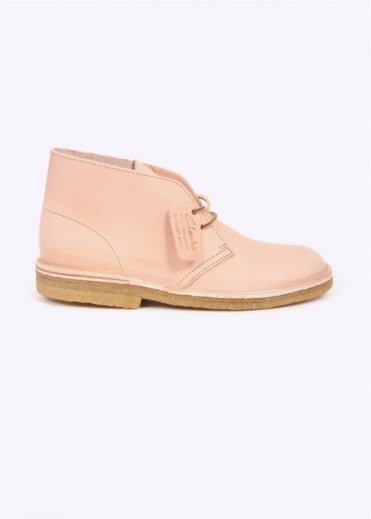 Clarks Originals Desert Boot Natural Leather - Tan