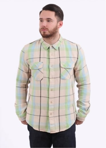 Shorthorn Shirt Check - Ecru Check