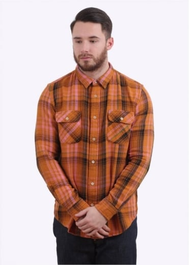Levi's Vintage Clothing Shorthorn Shirt Check - Peanut Check
