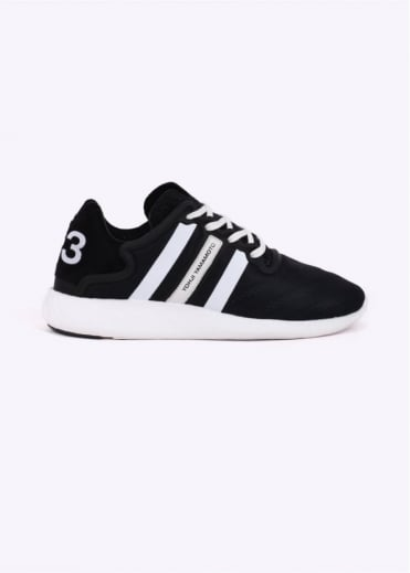 Yohji Run Trainer - Black / White