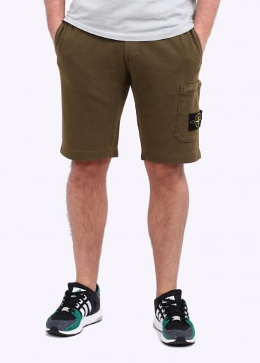 Sweat Shorts - Military Green
