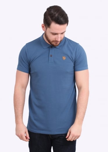 Fjallraven Ovik Polo Shirt - Uncle Blue