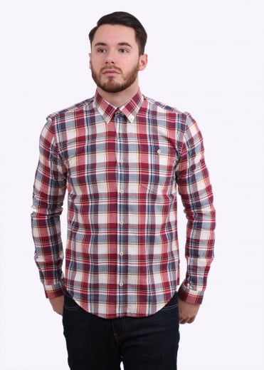 Barbour Oscar Shirt - White